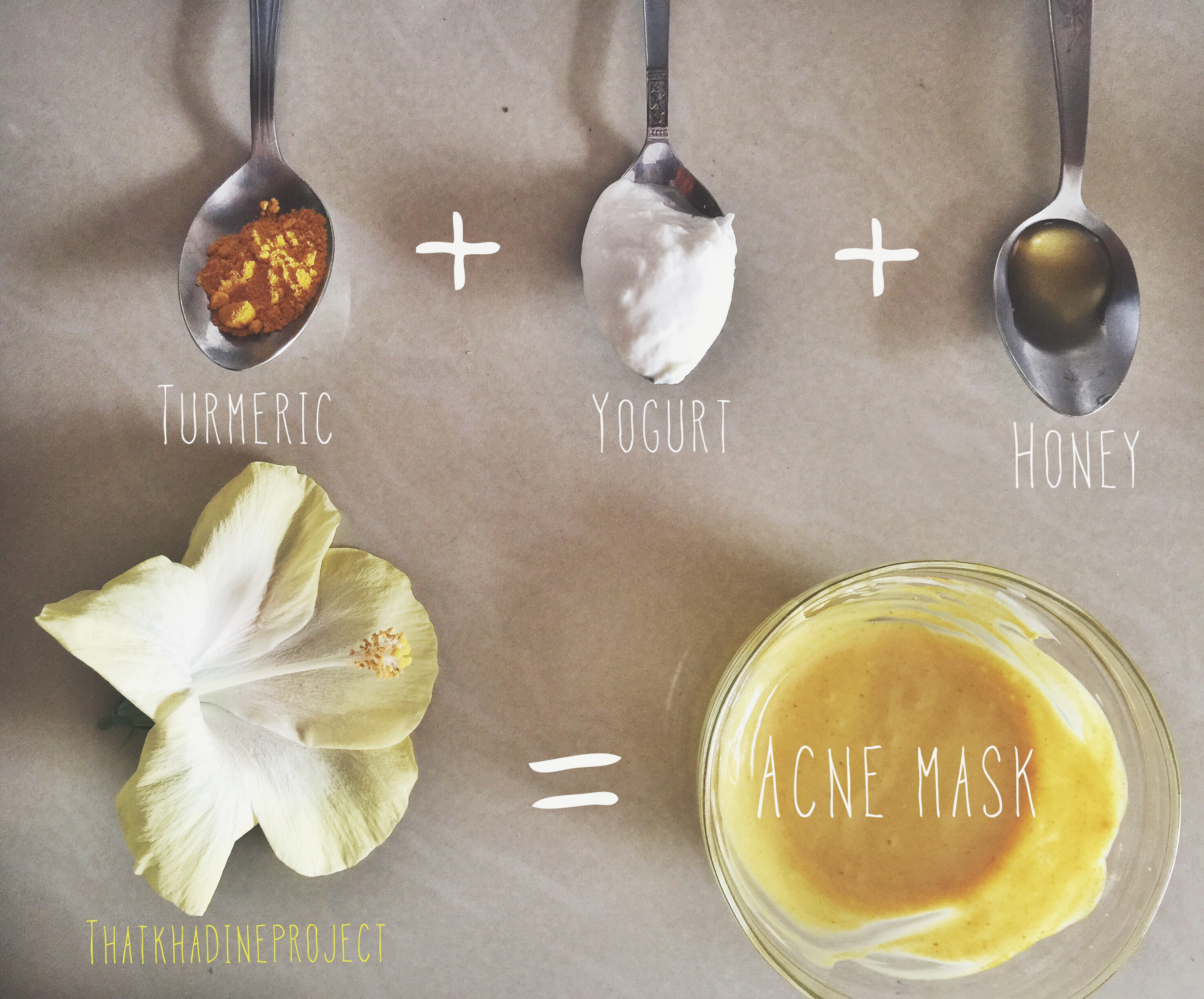 DIY Turmeric Face Mask (Acne & Dark Spots) | That Khadine Project